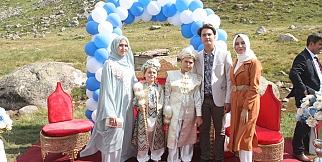 2 bin 400 metrede sünnet düğünü düzenlendi