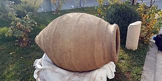 2 bin yıllık küp Arkeoloji Müzesi'nde sergilenmeye başlandı