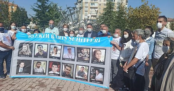 Gar saldırısında ölen 103 kişi anıldı