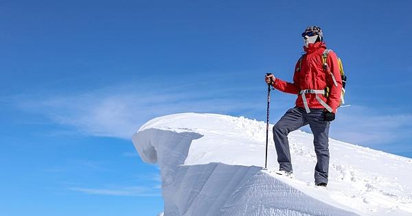 2 bin 884 rakımlı karlı dağa tırmanış