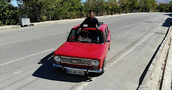 1974 model araç için 60 bin TL harcadı