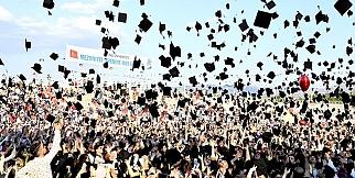 İnönü Üniversitesi'nde mezuniyet coşkusu