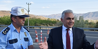 Malatya'da drone destekli trafik denetimi