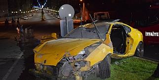 Malatya'da feci kaza : 2 ağır yaralı
