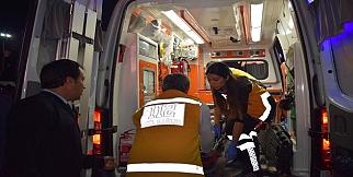 Otobüsün freni boşaldı: Yolcu bayıldı
