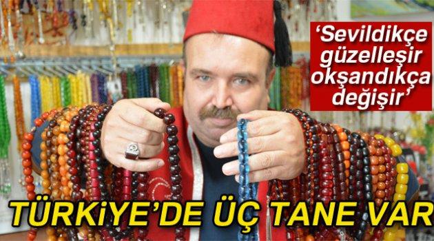 200 yıllık tesbihten Türkiye'de üç tane var