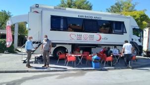 Akçadağ'da kan bağışı kampanyasına destek