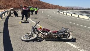 Hekimhan'da feci kaza: 1 ölü 1 yaralı