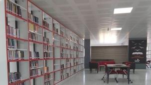Akçadağ'da Halk Kütüphanesi hizmete açıldı