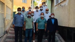 Başkan Kazgan ve Muhtarlardan Güde'ye hayırlı olsun ziyareti