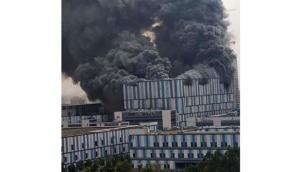 Huawei'nin laboratuvarında korkutan yangın