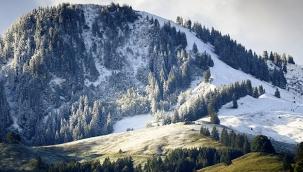 İsviçre'de kar kalınlığı 25 santimetreye ulaştı
