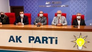 """""""AK Parti bir dava ve hizmet partisidir"""" """""""