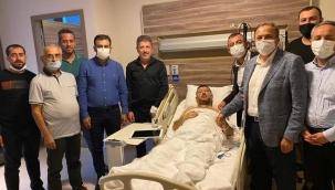 Milletvekili Ağbaba operasyon geçirdi