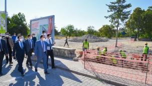 Kübra Medresesinde kazı çalışmaları