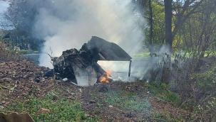 Sırbistan'da savaş uçağı düştü: 1 ölü