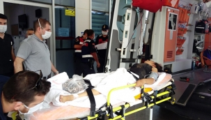Tarlada çalışırken tartıştığı karısını tüfekle yaraladı