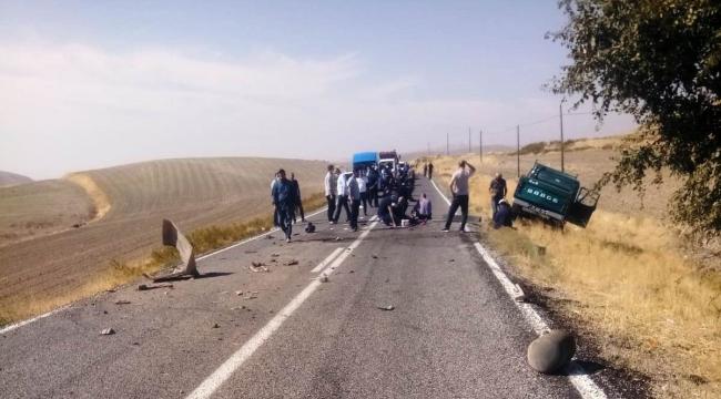 Arapgir'de iki ayrı kaza 2 yaralı!