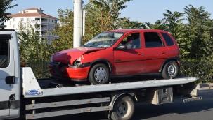 Çevre yolu üzerinde kaza: 1 yaralı