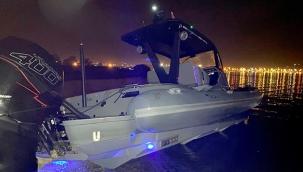 Fethiye'de sürat teknesi karaya vurdu 5 turist yaralandı