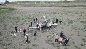 İstanbul'da eğitim uçağı düştü