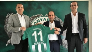 Konyaspor'un forma sponsoru belli oldu