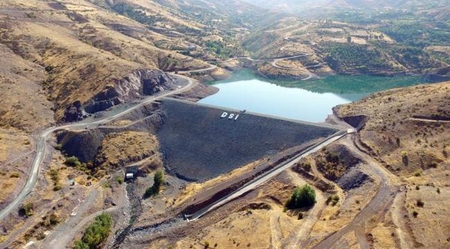 Yaygın Barajı tamamlandı!