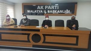 AK Parti kadın kolları şiddete hayır dedi