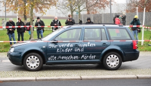 Almanya'da politik amaçlı kaza