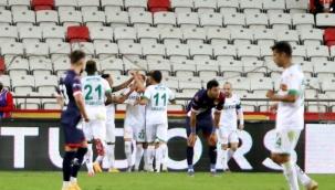 Antalyaspor'un 3 puan hasreti