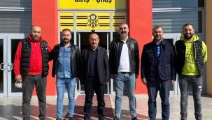 Eski başkandan Malatyaspor'a ziyaret