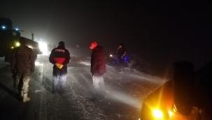 Yüksekova'da trafik kazası: 1 ölü 1 yaralı