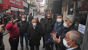 CHP'li Ağbaba: Esnaf devren kiralık