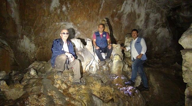 Damlataş Mağarası turizme açılmayı bekliyor