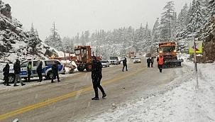 Antalya-Konya karayolunda kaza: 2 ölü