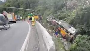 Brezilya'da otobüs kazası: 21 ölü33 yaralı