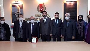 İYİ Parti Battalgazi Teşkilatı MGC'yi ziyaret etti