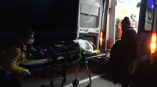 Kırklareli'nde trafik kazası: 4 yaralı
