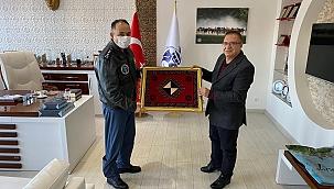 Koltukoğlu'dan Başkan Kazgan'a ziyaret