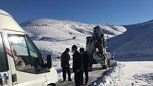 Malatya'da yoğun kar mesaisi!