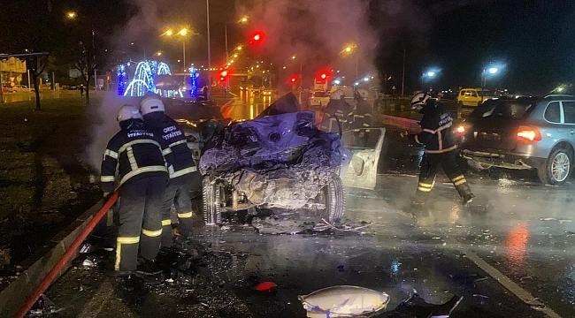 Ordu'da feci kaza: 1 ölü 2 yaralı