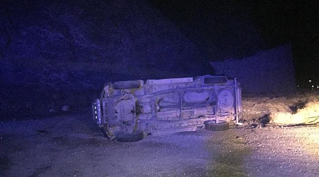 Doğanşehir'de trafik kazası: 3 yaralı