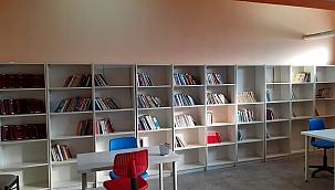 Şehit polis adına kütüphane!