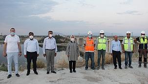 Tohma Köprüsü açılış için gün sayıyor