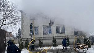 Ukrayna'da yangın: 15 ölü 5 yaralı