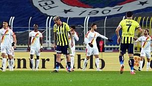 Fenerbahçe'den evinde 5. mağlubiyet
