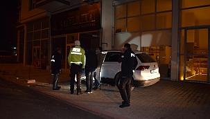 Polisten kaçan araçtan silah çıktı!