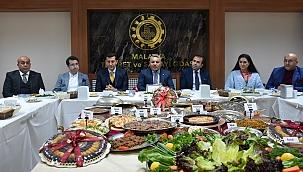 MTSO'da Malatya yemekleri tanıtıldı