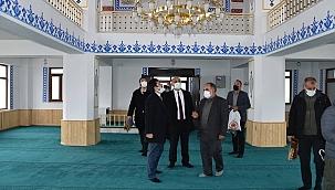Şehidin adına yapılan cami ibadete açıldı