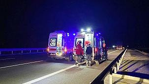 Aksaray'da trafik kazası: 1 ölü 1 yaralı